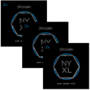 Irtokielet D'Addario NYXL High Carbon Plain Steel 008-018 (2-Pack)