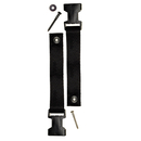 Extra Long Fasteners for ClipLock® Guitar Straps (Black)